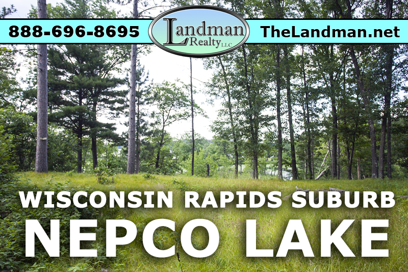 Wisconsin Rapids Nepco Lakefront Lot for Sale
