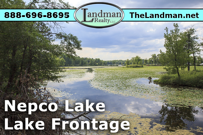 Wisconsin Rapids Nepco Lake Lot for Sale