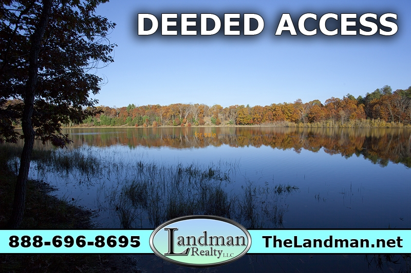 2 Acre Wooded Building Site with Deeded Lake Access
