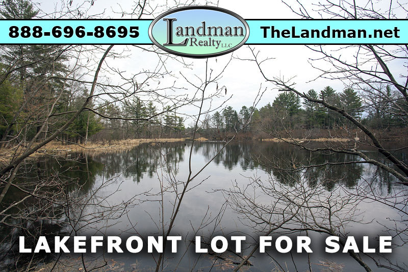 Wisconsin Lakefront Land for Sale Friendship Lake